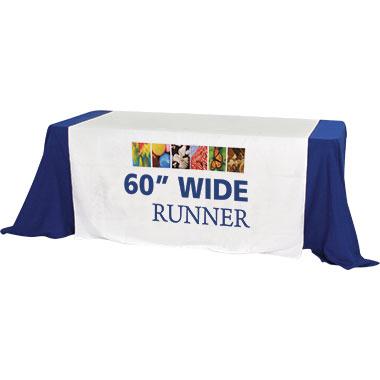 Premium Dye-Sub Table Runner · 60″-Wide