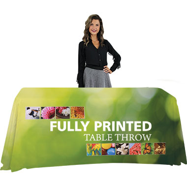 Trade Show Table Throws