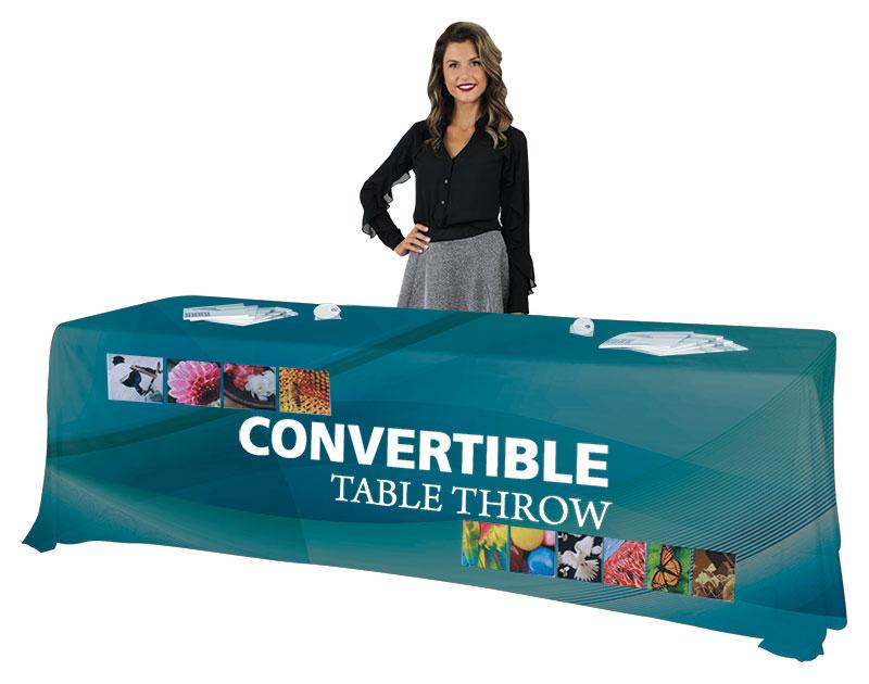 8′/6′ Convertible Table Throw