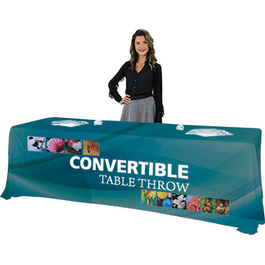 Convertible Dye-Sub Table Throws