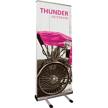 Thunder™ Outdoor Banner Stand