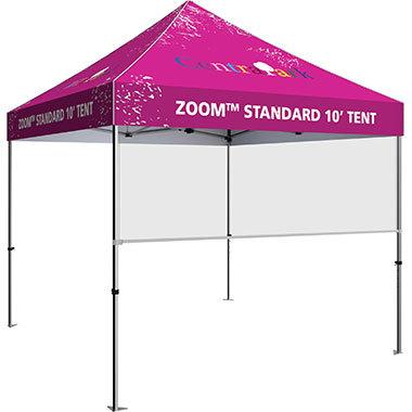 Zoom™ Tent Banner Shield