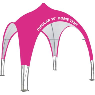 Tubular 10′ Dome Tent