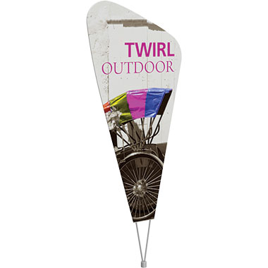 Twirl™ Outdoor Sign
