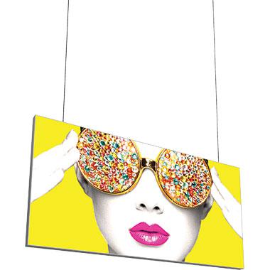Vector Frame™ Hanging Light Box 10′ × 5′