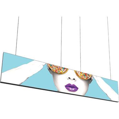Vector Frame™ Hanging Light Box 15′ × 3′