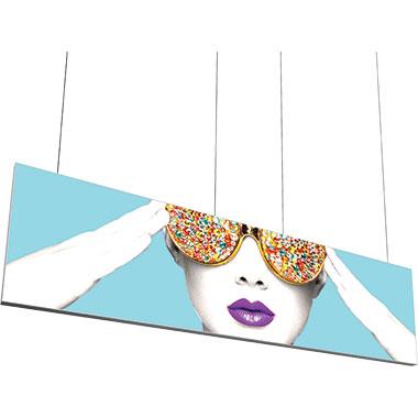 Vector Frame™ Hanging Light Box 15′ × 4′