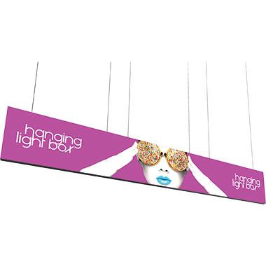 Vector Frame™ Hanging Light Box 20′ × 3′