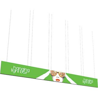 Vector Frame™ Hanging Light Box 30′ × 3′
