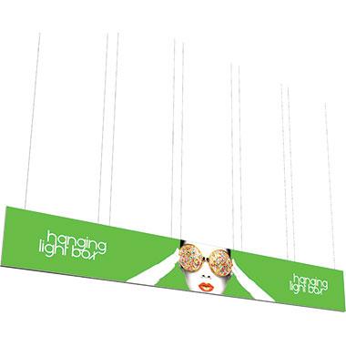 Vector Frame™ Hanging Light Box 30′ × 4′