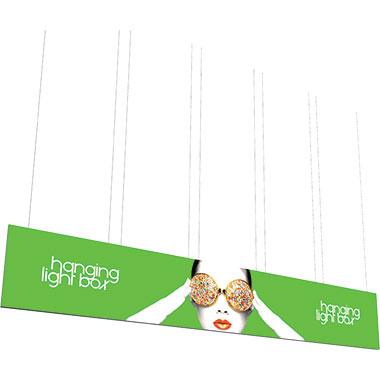 Vector Frame™ Hanging Light Box 30′ × 5′