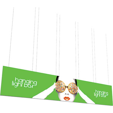 Vector Frame™ Hanging Light Box 30′ × 6′