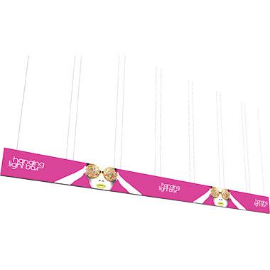 Vector Frame™ Hanging Light Box 40′ × 3′