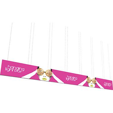Vector Frame™ Hanging Light Box 40′ × 4′