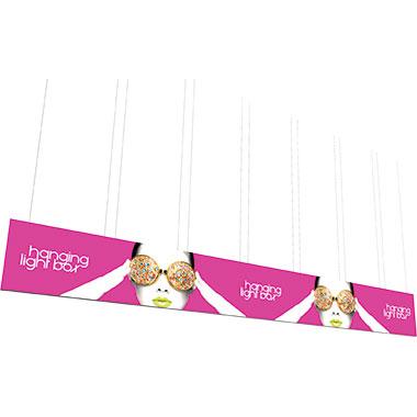 Vector Frame™ Hanging Light Box 40′ × 5′