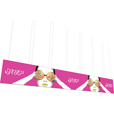 Vector Frame™ Hanging Light Box 40′ × 6′