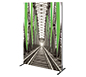 Vector Frame™ Light Box R-03 Tension Fabric Sign · Right Angle View