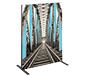 Vector Frame™ R-01 Tension Fabric Sign · Left Angle View