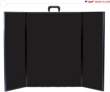 Voyager Mega™ Briefcase Tabletop Display