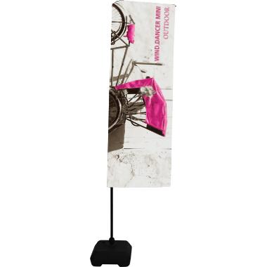 Wind Dancer™ Mini • Banner Flag Display