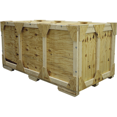 WOODCRATE-H Wooden Shipping Crate