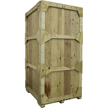WOODCRATE-V Wooden Shipping Crate