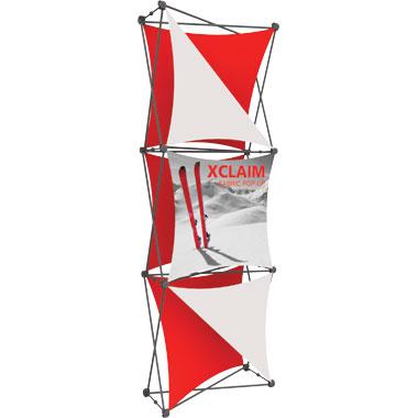 Xclaim™ Fabric Popup Display • 1×3 Kit 04