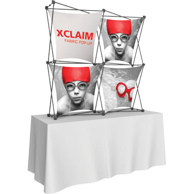 Xclaim™ Fabric Popup Display • 2×2 Kit 04