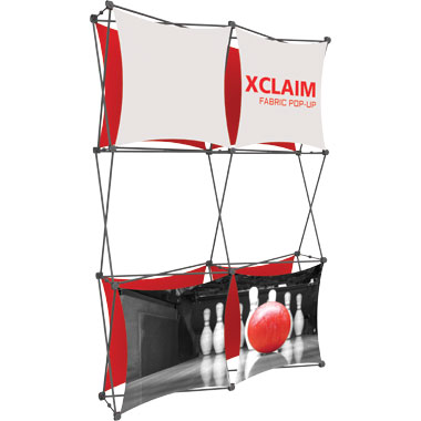 Xclaim™ Fabric Popup Display • 2×3 Kit 02