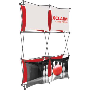 Xclaim™ Fabric Popup Display • 2×3 Kit 02