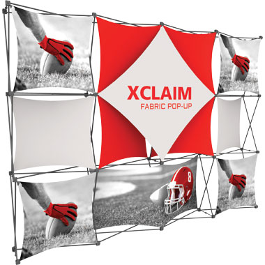 Xclaim™ Fabric Popup Display • 4×3 Kit 06