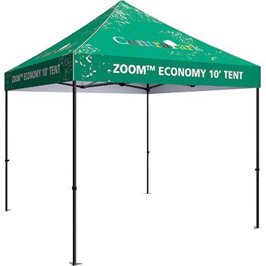 Economy 10′ Square Tents