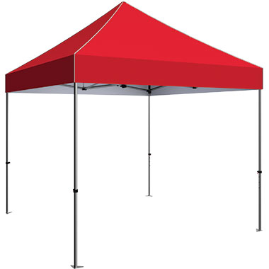 Zoom™ Standard 10′ Popup Tent With Stock Canopy