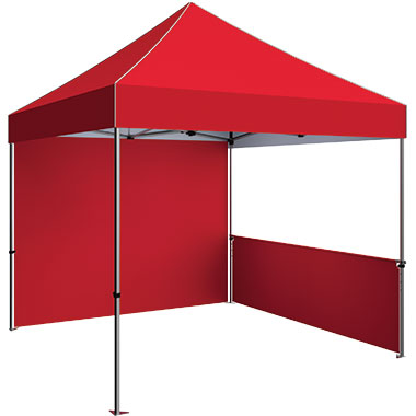 Zoom™ 10′ Tent Full Wall · Stock Color