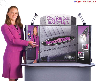 ShowStyle® Briefcase Display All-In-One