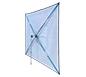ShowFlex™ Umbrella Tabletop Display · Angled Back View