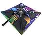 ShowFlex™ Umbrella Tabletop Display · Pivot Telescoping Leg 90° to Lock Hub in Place