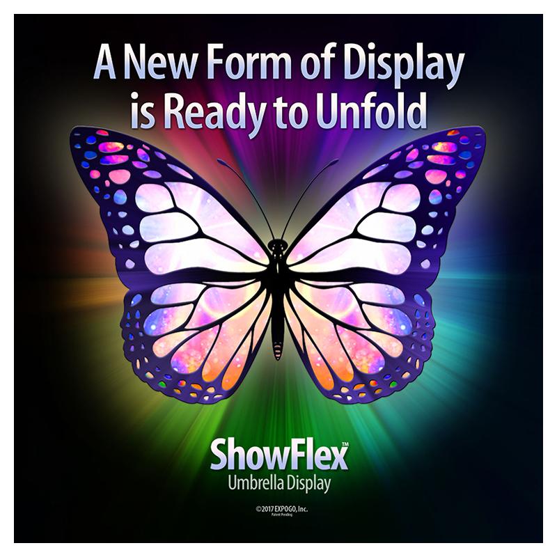 ShowFlex Umbrella Displays