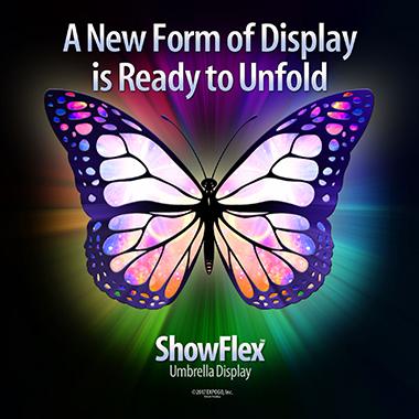ShowFlex™ Umbrella Display