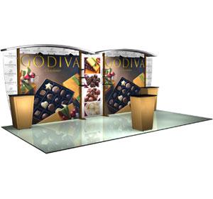 Alumalite Classic™ • AL5 Deluxe · 20′ Trade Show Booth