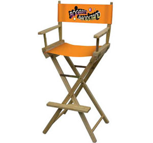 Director's Chair (Bar-Height) w/ Full Color Logo Print