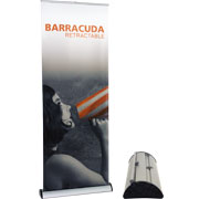 Barracuda™ 800 Retractable Banner Stands