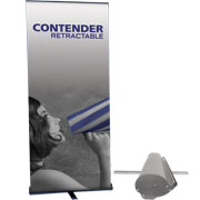 Contender™ Mega Retractable Banner Stand