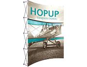 Hop Up™ • 3×4 Curved Pop Up Display