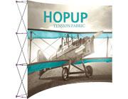 Hop Up™ • 4×3 Curved Pop Up Display