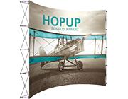 Hop Up™ • 5×4 Curved Pop Up Display