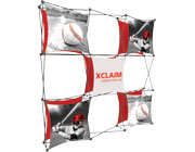 Xclaim™ Fabric Popup Display • 3×3 Kit 04