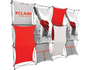 Xclaim™ Fabric Popup Display • 4×3 Kit 03