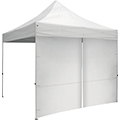 10′ Tent Zipper Wall • White