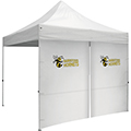 10′ Tent Zipper Wall w/ Imprints